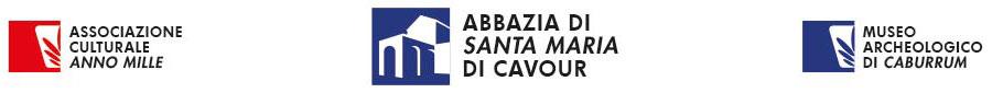 Abbazia di Santa Maria | Cavour TO Logo