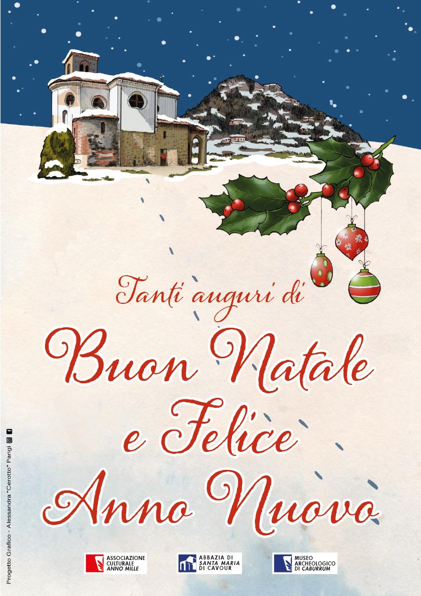 Auguri Di Buon Natale E Buon Anno.Tanti Auguri Di Buon Natale E Felice Anno Nuovo Abbazia Di Santa Maria Cavour To